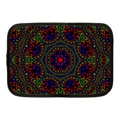 Rainbow Kaleidoscope Netbook Case (Medium)