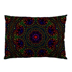 Rainbow Kaleidoscope Pillow Case
