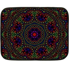 Rainbow Kaleidoscope Fleece Blanket (Mini)