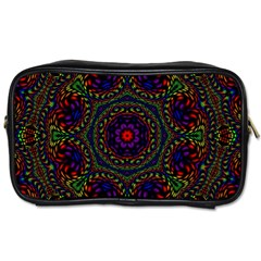 Rainbow Kaleidoscope Toiletries Bags