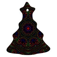 Rainbow Kaleidoscope Ornament (christmas Tree)