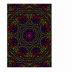 Rainbow Kaleidoscope Large Garden Flag (Two Sides)