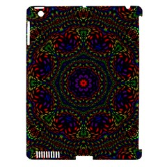 Rainbow Kaleidoscope Apple iPad 3/4 Hardshell Case (Compatible with Smart Cover)