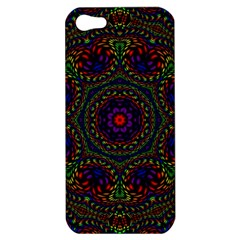 Rainbow Kaleidoscope Apple Iphone 5 Hardshell Case