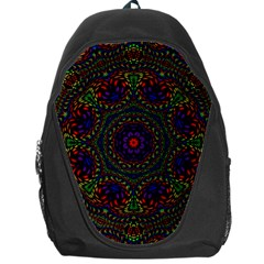 Rainbow Kaleidoscope Backpack Bag