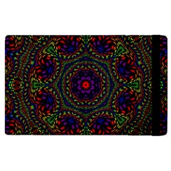 Rainbow Kaleidoscope Apple Ipad 2 Flip Case