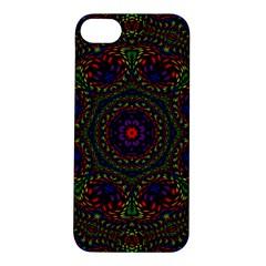 Rainbow Kaleidoscope Apple iPhone 5S/ SE Hardshell Case