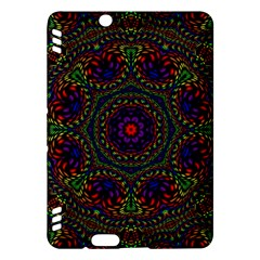 Rainbow Kaleidoscope Kindle Fire Hdx Hardshell Case