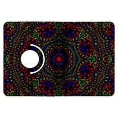 Rainbow Kaleidoscope Kindle Fire HDX Flip 360 Case