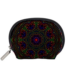 Rainbow Kaleidoscope Accessory Pouches (Small)