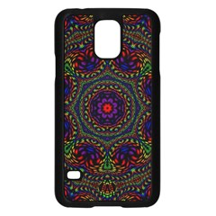 Rainbow Kaleidoscope Samsung Galaxy S5 Case (black)