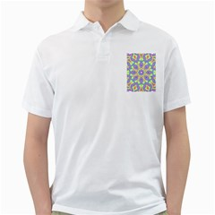 Rainbow Kaleidoscope Golf Shirts