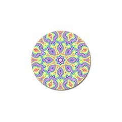 Rainbow Kaleidoscope Golf Ball Marker (10 pack)