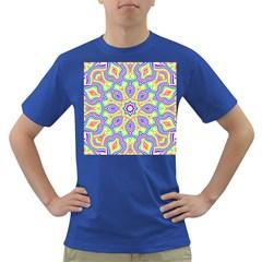 Rainbow Kaleidoscope Dark T Shirt