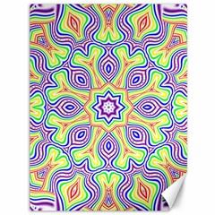 Rainbow Kaleidoscope Canvas 36  X 48