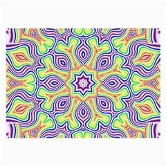 Rainbow Kaleidoscope Large Glasses Cloth
