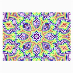 Rainbow Kaleidoscope Large Glasses Cloth (2-Side)