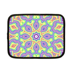 Rainbow Kaleidoscope Netbook Case (Small)
