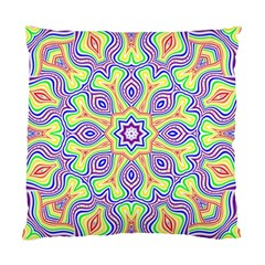 Rainbow Kaleidoscope Standard Cushion Case (One Side)