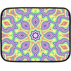 Rainbow Kaleidoscope Fleece Blanket (mini)