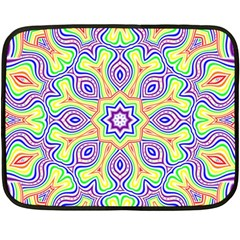 Rainbow Kaleidoscope Double Sided Fleece Blanket (Mini)