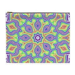 Rainbow Kaleidoscope Cosmetic Bag (XL)