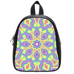Rainbow Kaleidoscope School Bags (small)