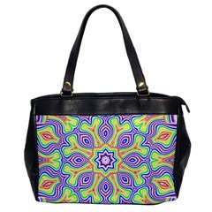 Rainbow Kaleidoscope Office Handbags
