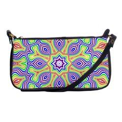 Rainbow Kaleidoscope Shoulder Clutch Bags