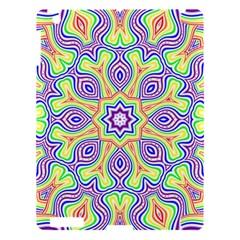 Rainbow Kaleidoscope Apple Ipad 3/4 Hardshell Case