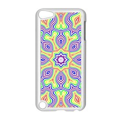 Rainbow Kaleidoscope Apple Ipod Touch 5 Case (white)