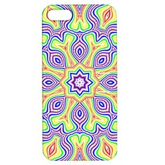 Rainbow Kaleidoscope Apple iPhone 5 Hardshell Case with Stand