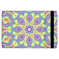 Rainbow Kaleidoscope Ipad Air Flip