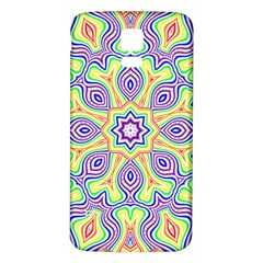 Rainbow Kaleidoscope Samsung Galaxy S5 Back Case (white)