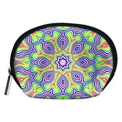 Rainbow Kaleidoscope Accessory Pouches (Medium)