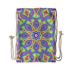 Rainbow Kaleidoscope Drawstring Bag (Small)
