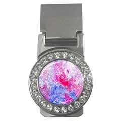 Glitter Pattern Background Money Clips (CZ)