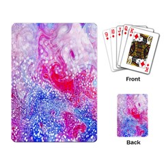 Glitter Pattern Background Playing Card