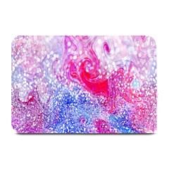 Glitter Pattern Background Plate Mats