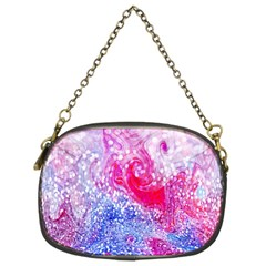 Glitter Pattern Background Chain Purses (Two Sides)