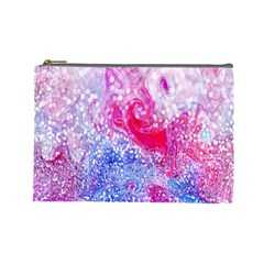 Glitter Pattern Background Cosmetic Bag (Large)