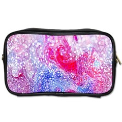 Glitter Pattern Background Toiletries Bags