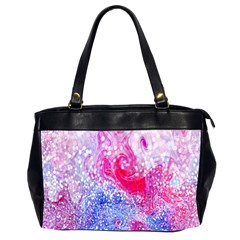 Glitter Pattern Background Office Handbags (2 Sides)