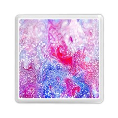 Glitter Pattern Background Memory Card Reader (Square)