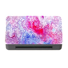 Glitter Pattern Background Memory Card Reader with CF