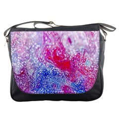 Glitter Pattern Background Messenger Bags