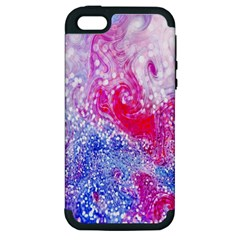Glitter Pattern Background Apple iPhone 5 Hardshell Case (PC+Silicone)