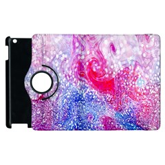 Glitter Pattern Background Apple Ipad 2 Flip 360 Case