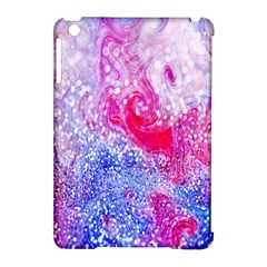 Glitter Pattern Background Apple iPad Mini Hardshell Case (Compatible with Smart Cover)