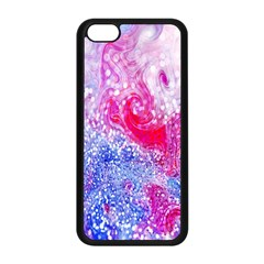 Glitter Pattern Background Apple iPhone 5C Seamless Case (Black)